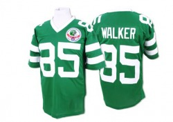 Authentic Men's Wesley Walker New York Jets Mitchell and Ness Team Color Throwback Jersey - Green