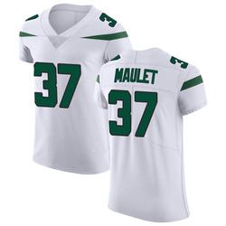 Elite Men's Arthur Maulet New York Jets Nike Vapor Untouchable Jersey - Spotlight White