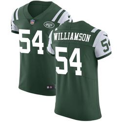 Elite Men's Avery Williamson New York Jets Nike Team Color Vapor Untouchable Jersey - Green