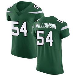 Elite Men's Avery Williamson New York Jets Nike Vapor Untouchable Jersey - Gotham Green