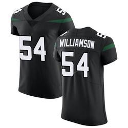 Elite Men's Avery Williamson New York Jets Nike Vapor Untouchable Jersey - Stealth Black