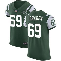 Elite Men's Ben Braden New York Jets Nike Team Color Vapor Untouchable Jersey - Green