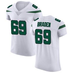 Elite Men's Ben Braden New York Jets Nike Vapor Untouchable Jersey - Spotlight White
