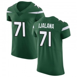 Elite Men's Ben Ijalana New York Jets Nike Vapor Untouchable Jersey - Gotham Green