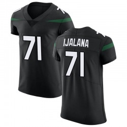 Elite Men's Ben Ijalana New York Jets Nike Vapor Untouchable Jersey - Stealth Black