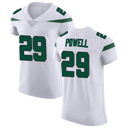 Elite Men's Bilal Powell New York Jets Nike Vapor Untouchable Jersey - Spotlight White