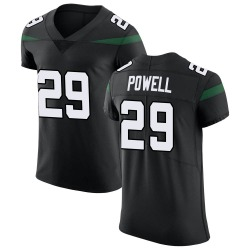 Elite Men's Bilal Powell New York Jets Nike Vapor Untouchable Jersey - Stealth Black