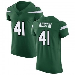 Elite Men's Blessuan Austin New York Jets Nike Vapor Untouchable Jersey - Gotham Green