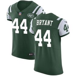Elite Men's Brandon Bryant New York Jets Nike Team Color Vapor Untouchable Jersey - Green
