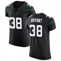 Elite Men's Brandon Bryant New York Jets Nike Vapor Untouchable Jersey - Stealth Black