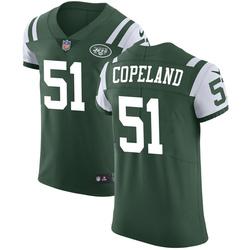 Elite Men's Brandon Copeland New York Jets Nike Team Color Vapor Untouchable Jersey - Green