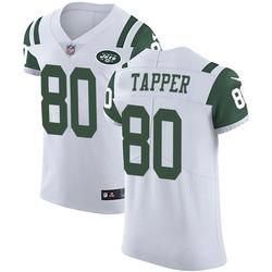Elite Men's Charles Tapper New York Jets Nike Vapor Untouchable Jersey - White