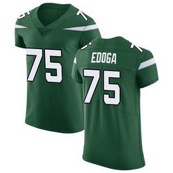 Elite Men's Chuma Edoga New York Jets Nike Vapor Untouchable Jersey - Gotham Green