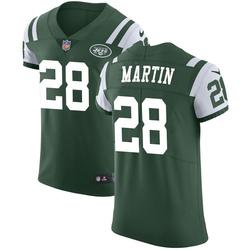 1d0c4afc959 Elite Men s Curtis Martin New York Jets Nike Team Color Vapor Untouchable  Jersey - Green