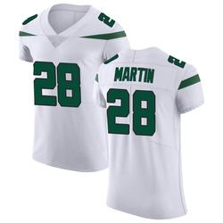 Elite Men's Curtis Martin New York Jets Nike Vapor Untouchable Jersey - Spotlight White