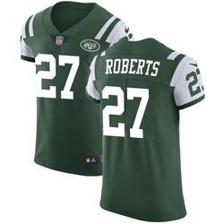 Elite Men's Darryl Roberts New York Jets Nike Team Color Vapor Untouchable Jersey - Green