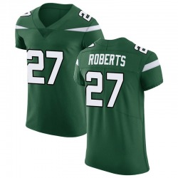 Elite Men's Darryl Roberts New York Jets Nike Vapor Untouchable Jersey - Gotham Green