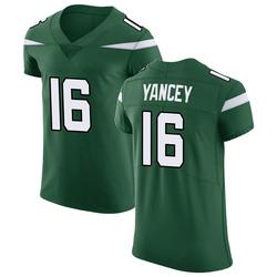 Elite Men's DeAngelo Yancey New York Jets Nike Vapor Untouchable Jersey - Gotham Green