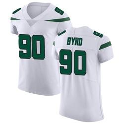 Elite Men's Dennis Byrd New York Jets Nike Vapor Untouchable Jersey - Spotlight White