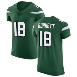 Elite Men's Deontay Burnett New York Jets Nike Vapor Untouchable Jersey - Gotham Green