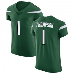 Elite Men's Deonte Thompson New York Jets Nike Vapor Untouchable Jersey - Gotham Green