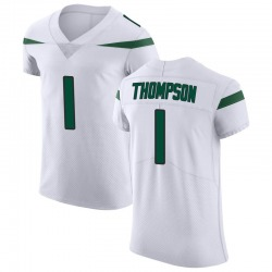 Elite Men's Deonte Thompson New York Jets Nike Vapor Untouchable Jersey - Spotlight White