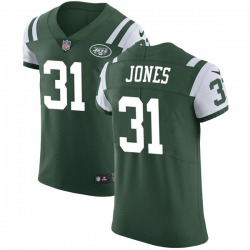 Elite Men's Derrick Jones New York Jets Nike Team Color Vapor Untouchable Jersey - Green