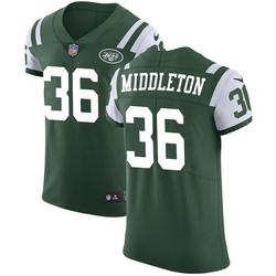 Elite Men's Doug Middleton New York Jets Nike Team Color Vapor Untouchable Jersey - Green