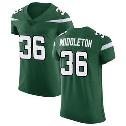 Elite Men's Doug Middleton New York Jets Nike Vapor Untouchable Jersey - Gotham Green