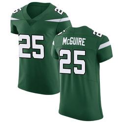 Elite Men's Elijah McGuire New York Jets Nike Vapor Untouchable Jersey - Gotham Green