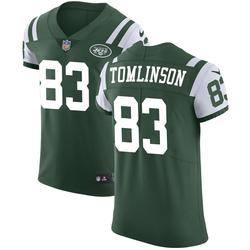 Elite Men's Eric Tomlinson New York Jets Nike Team Color Vapor Untouchable Jersey - Green