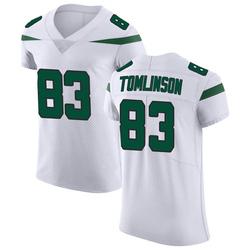 Elite Men's Eric Tomlinson New York Jets Nike Vapor Untouchable Jersey - Spotlight White