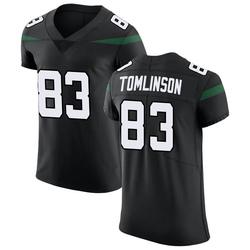 Elite Men's Eric Tomlinson New York Jets Nike Vapor Untouchable Jersey - Stealth Black