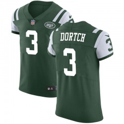 Elite Men's Greg Dortch New York Jets Nike Team Color Vapor Untouchable Jersey - Green