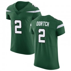 Elite Men's Greg Dortch New York Jets Nike Vapor Untouchable Jersey - Gotham Green