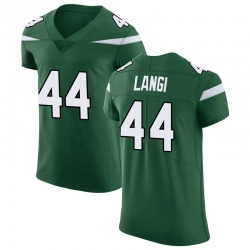 Elite Men's Harvey Langi New York Jets Nike Vapor Untouchable Jersey - Gotham Green