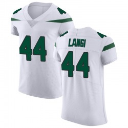 Elite Men's Harvey Langi New York Jets Nike Vapor Untouchable Jersey - Spotlight White