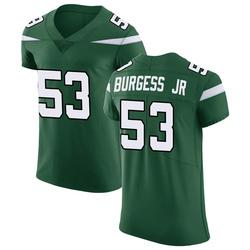 Elite Men's James Burgess New York Jets Nike Vapor Untouchable Jersey - Gotham Green