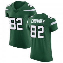 Elite Men's Jamison Crowder New York Jets Nike Vapor Untouchable Jersey - Gotham Green