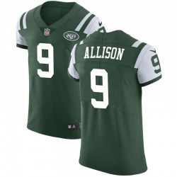 Elite Men's Jeff Allison New York Jets Nike Team Color Vapor Untouchable Jersey - Green