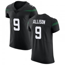 Elite Men's Jeff Allison New York Jets Nike Vapor Untouchable Jersey - Stealth Black