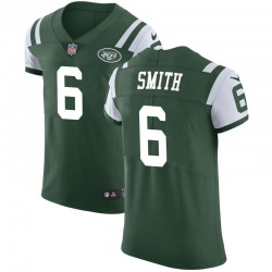 Elite Men's Jeff Smith New York Jets Nike Team Color Vapor Untouchable Jersey - Green