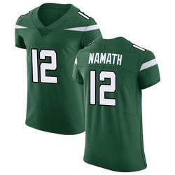 Elite Men's Joe Namath New York Jets Nike Vapor Untouchable Jersey - Gotham Green