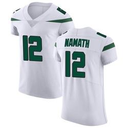 Elite Men's Joe Namath New York Jets Nike Vapor Untouchable Jersey - Spotlight White