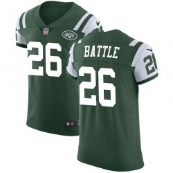 Elite Men's John Battle New York Jets Nike Team Color Vapor Untouchable Jersey - Green