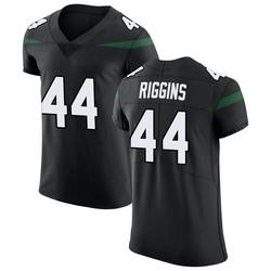 Elite Men's John Riggins New York Jets Nike Vapor Untouchable Jersey - Stealth Black