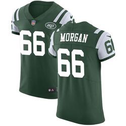 Elite Men's Jordan Morgan New York Jets Nike Team Color Vapor Untouchable Jersey - Green