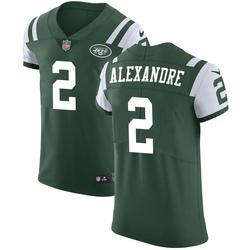 Elite Men's Justin Alexandre New York Jets Nike Team Color Vapor Untouchable Jersey - Green