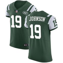 Elite Men's Keyshawn Johnson New York Jets Nike Team Color Vapor Untouchable Jersey - Green