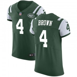 Elite Men's Kyron Brown New York Jets Nike Team Color Vapor Untouchable Jersey - Green